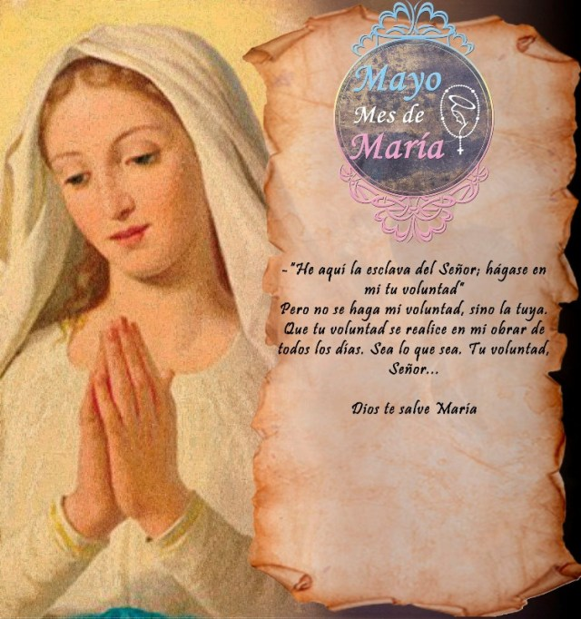 MAYO MES DE MARÍA (16 DÍA)