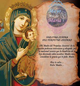 MAYO MES DE MARÍA (20 DÍA)