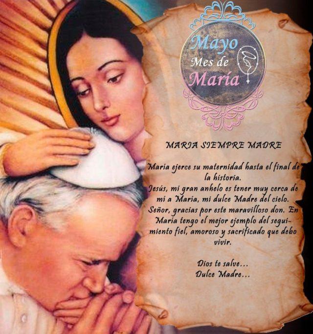 MAYO MES DE MARÍA (17 DÍA)
