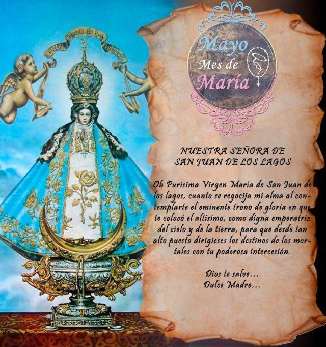 MAYO MES DE MARÍA (21 DÍA)