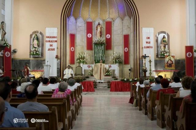 GALERÍA: CELEBRAN AL SAGRADO CORAZÓN DE JESÚS EN SABINAS