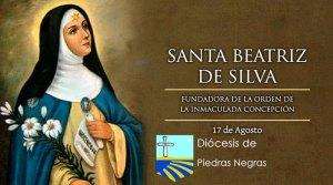 Santa Beatriz de Silva, Virgen