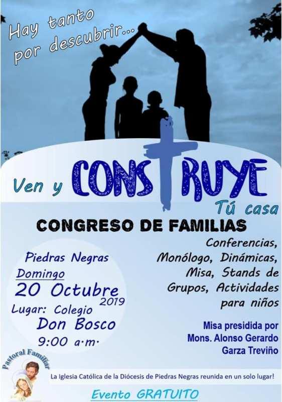 CONGRESO DE FAMILIAS EN PIEDRAS NEGRAS