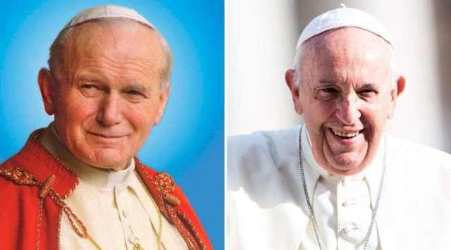 Así recordó el Papa Francisco a San Juan Pablo II en el aniversario de su elección