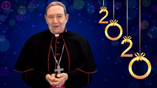 VIDEO: MONS. ALONSO G. GARZA ENVÍA MENSAJE DE AÑO NUEVO 2020