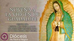 Quinto Día de la Novena a la Virgen de Guadalupe