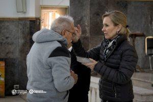 GALERÍA: PARROQUIA GUADALUPE LLEVA A CABO LA IMPOSICIÓN DE CENIZA EN SABINAS