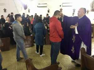 GALERÍA: ASÍ SE VIVIÓ EL MIÉRCOLES DE CENIZA EN LA PARROQUIA CRISTO REY DE ACUÑA