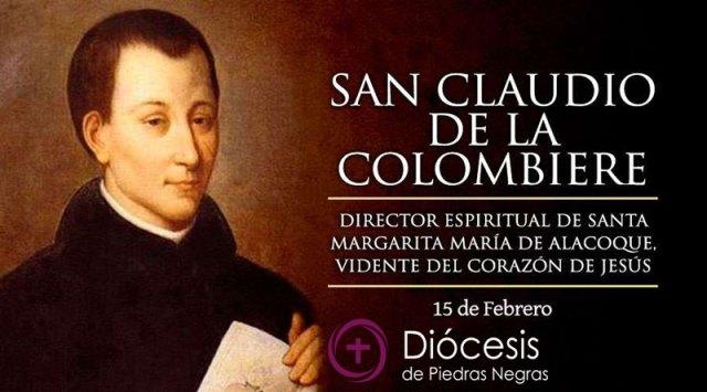 Hoy recordamos a San Claudio de la Colombiere, jesuita entregado al Corazón de Jesús