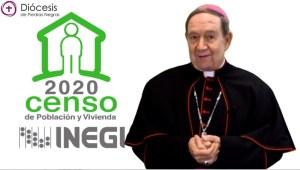 OBISPO ALONSO G. GARZA TREVIÑO INVITA AL CENSO DE POBLACIÓN Y VIVIENDA 2020