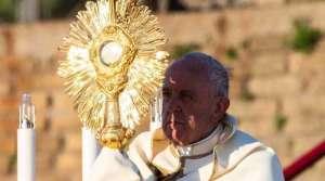 Coronavirus: Vaticano informa cómo celebrará el Papa Francisco el Corpus Christi