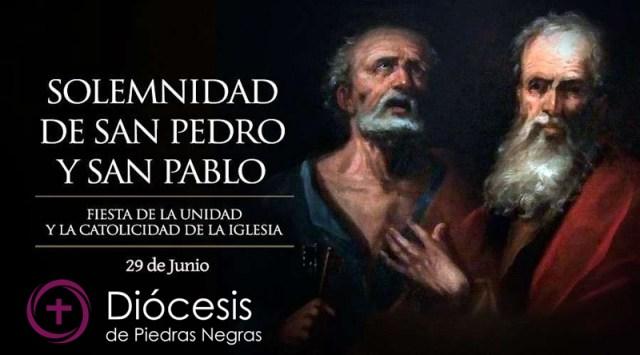 Hoy la Iglesia celebra la Solemnidad de San Pedro y San Pablo