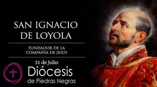 Hoy es la fiesta de San Ignacio de Loyola, fundador de la Compañía de Jesús