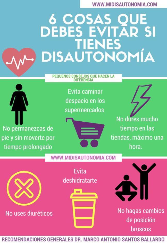 Síntomas de Disautonomía