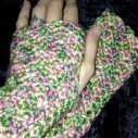 Faerie blossom Wristwarmers