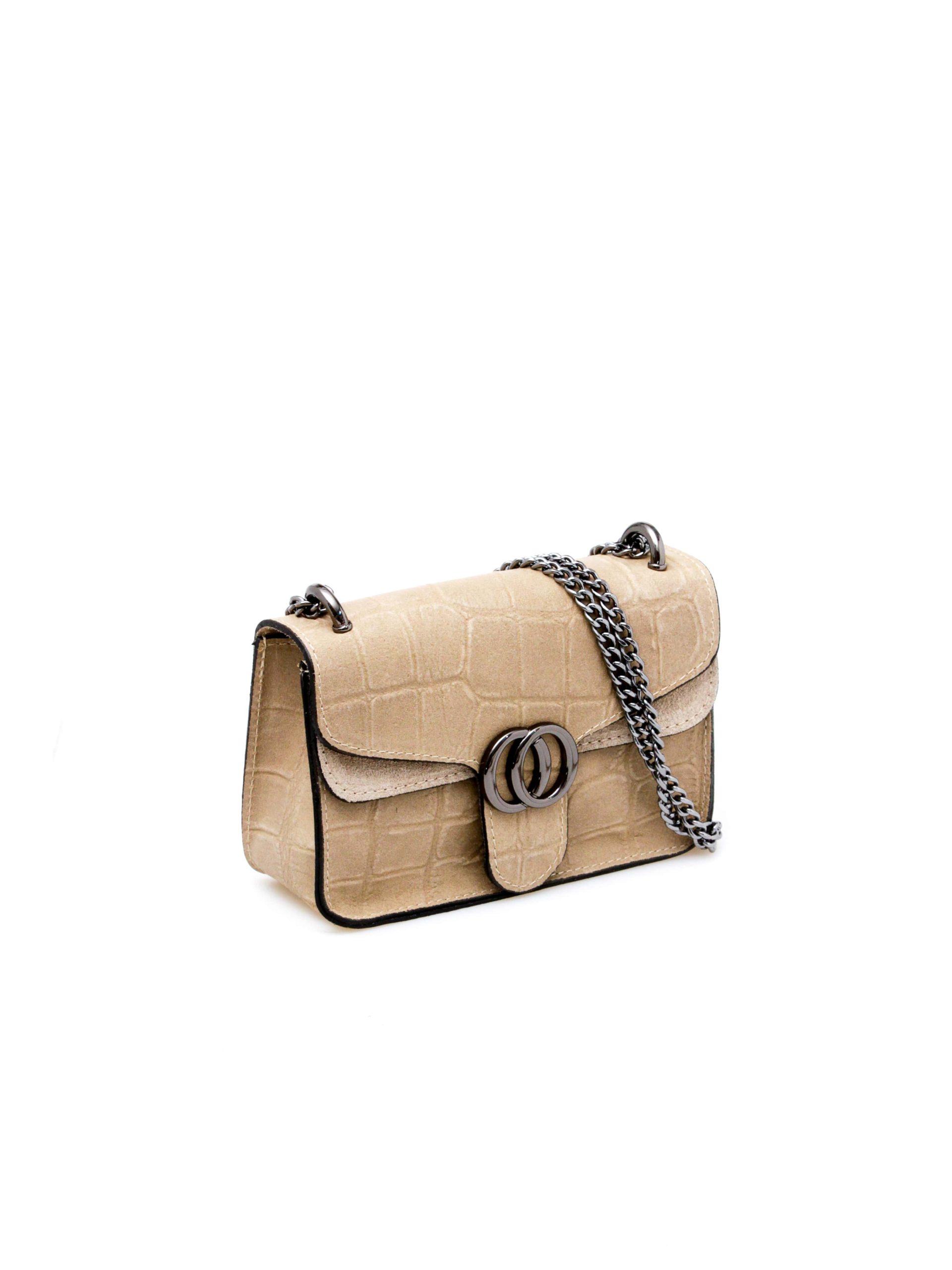 женская сумочка бежевая