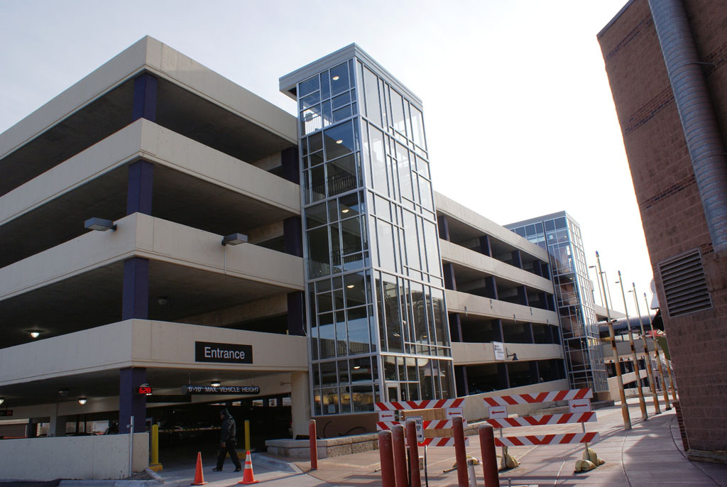 Parking Ramps  Midland Glass