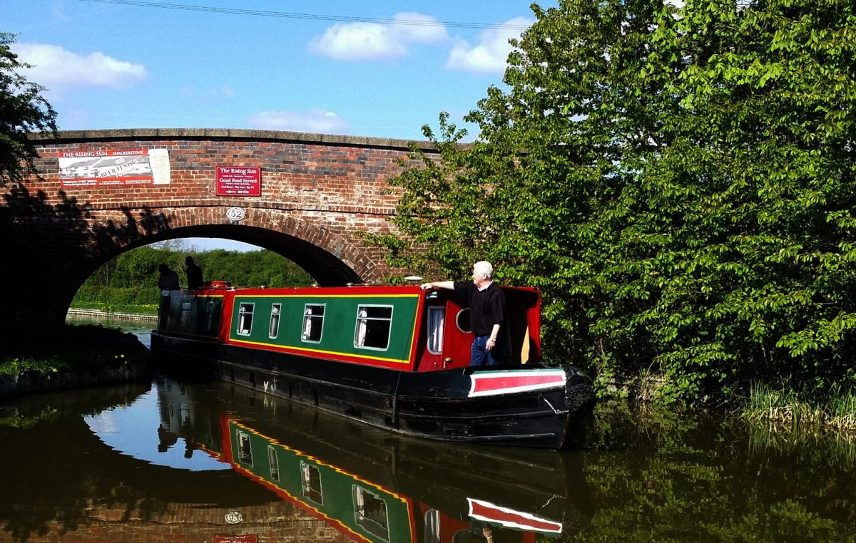 Ashby Canal Hire Boat