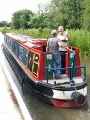 Canal Holiday Departing