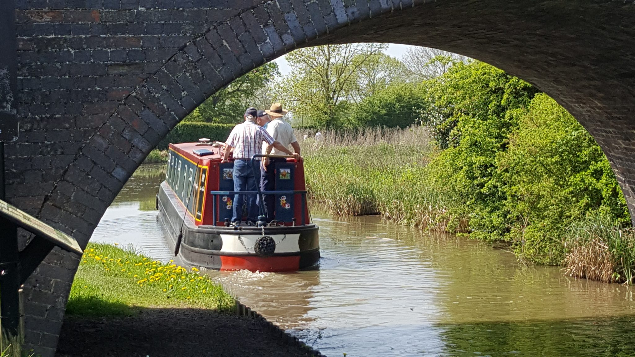 Setting off on a cruise from Bosworth Marina on the Ashby Canal.