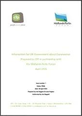 Information request for UK Government - Midlands Parks Forum