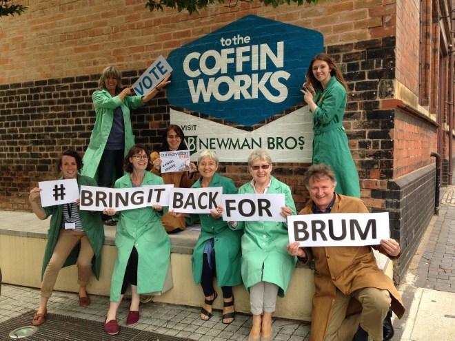 Bring it back for Brum - outside