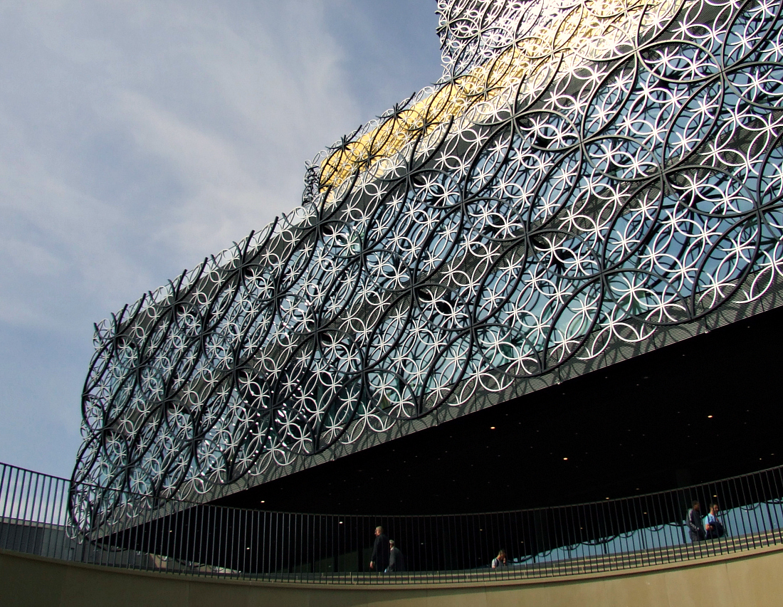 Inside the New Library of Birmingham
