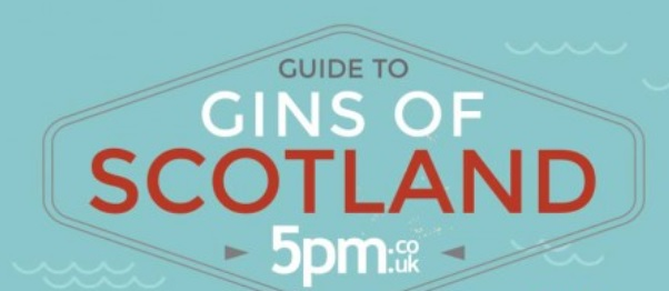 A  new infographic to Maps out Scottish Gins