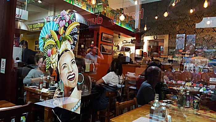 Carioca restaurant, Brixton