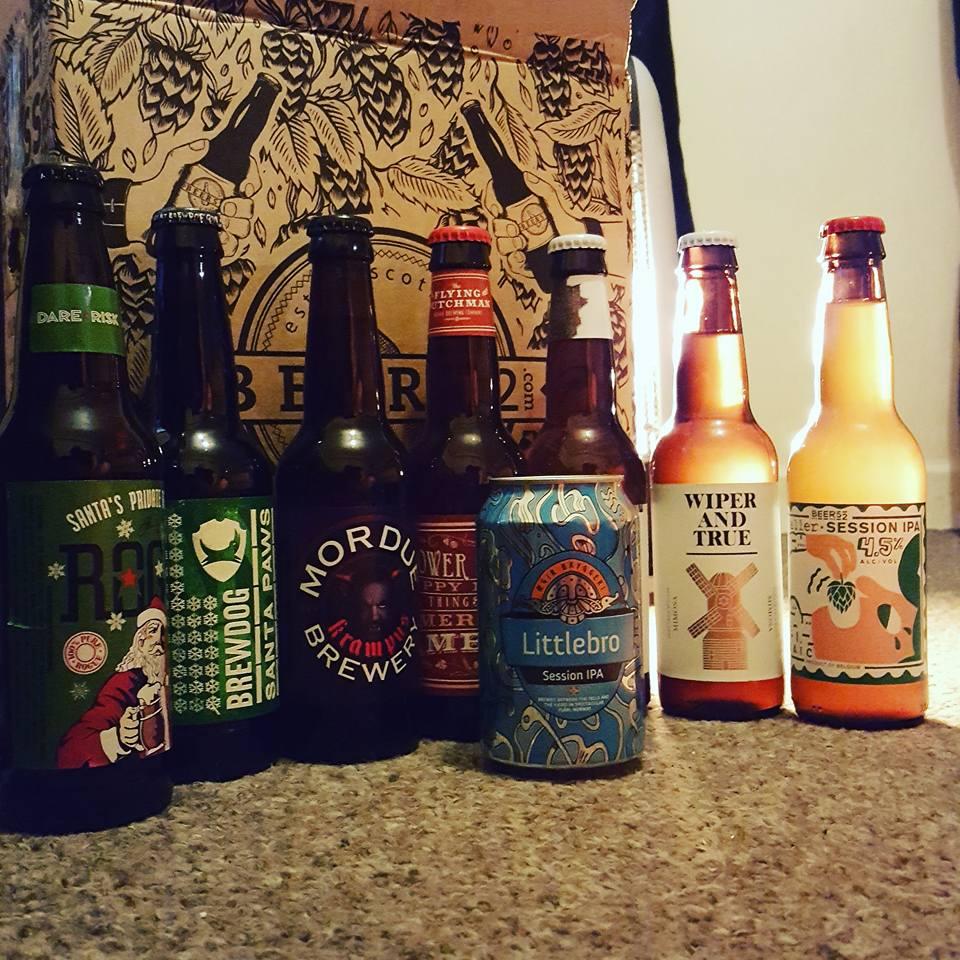 Craft beer Christmas indulgence by Beer 52