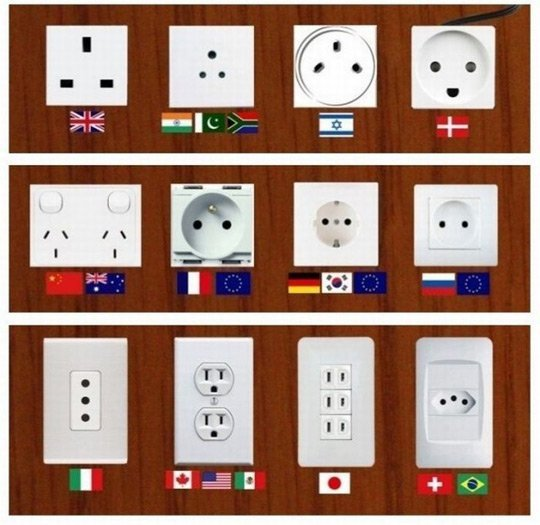 Travel-power-adapters