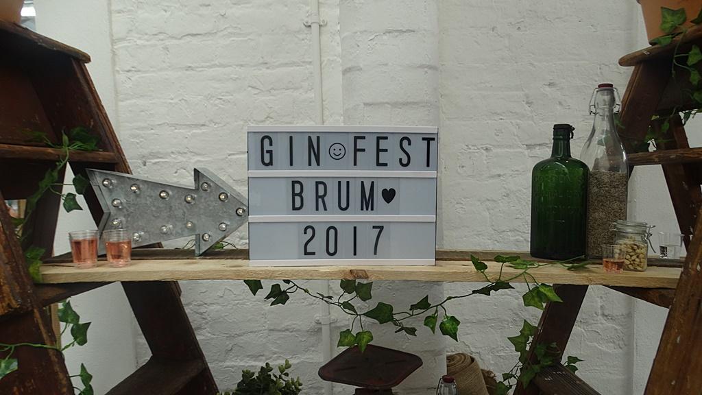 Gin Festival Birmingham 2017
