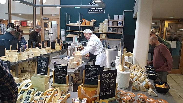 Visiting Wensleydale Creamery | Hawes, Yorkshire