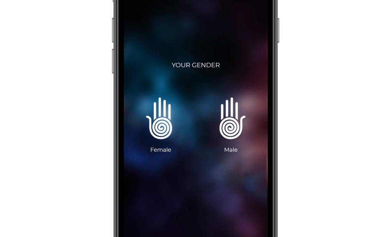 gender-choose which hand to analyse