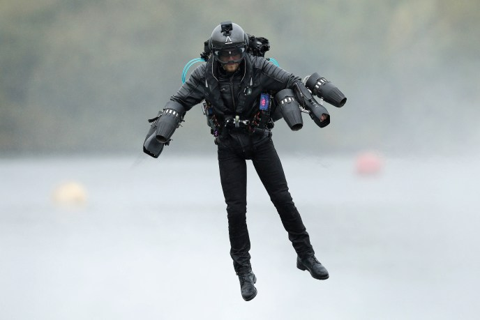 Gravity Industries Jet Suit Pilot - performing as a duo at this month's Bournemouth Air Festival.JPG