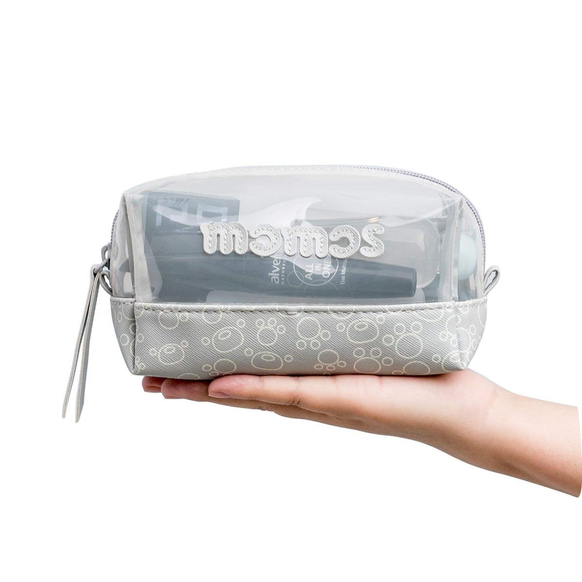 Waterproof Toiletry Bag (Grey) | Jordan & Judy – (2 prizes!)