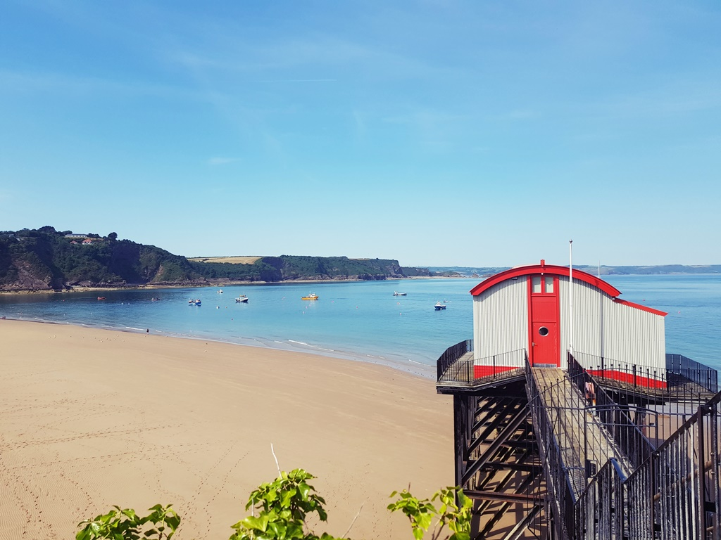 What I Ate Wednesday | Lunch by the sea in Tenby - Pembrokeshire