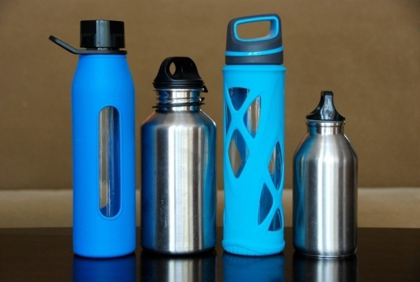 bottles-water-steel-glass-stainless-eco-reusable