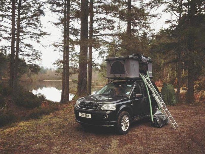 Car-Tent-Camping