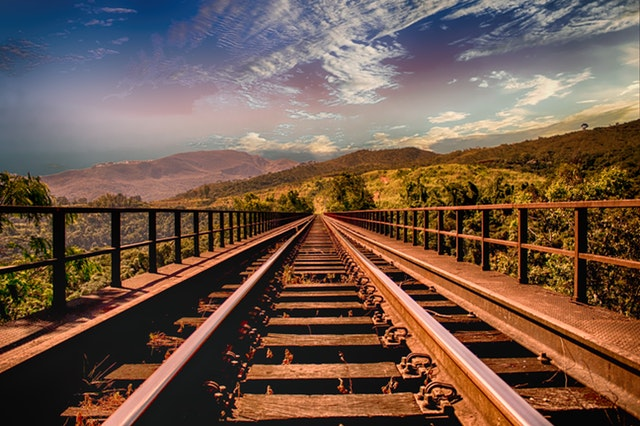 bridge-clouds-forest-461772