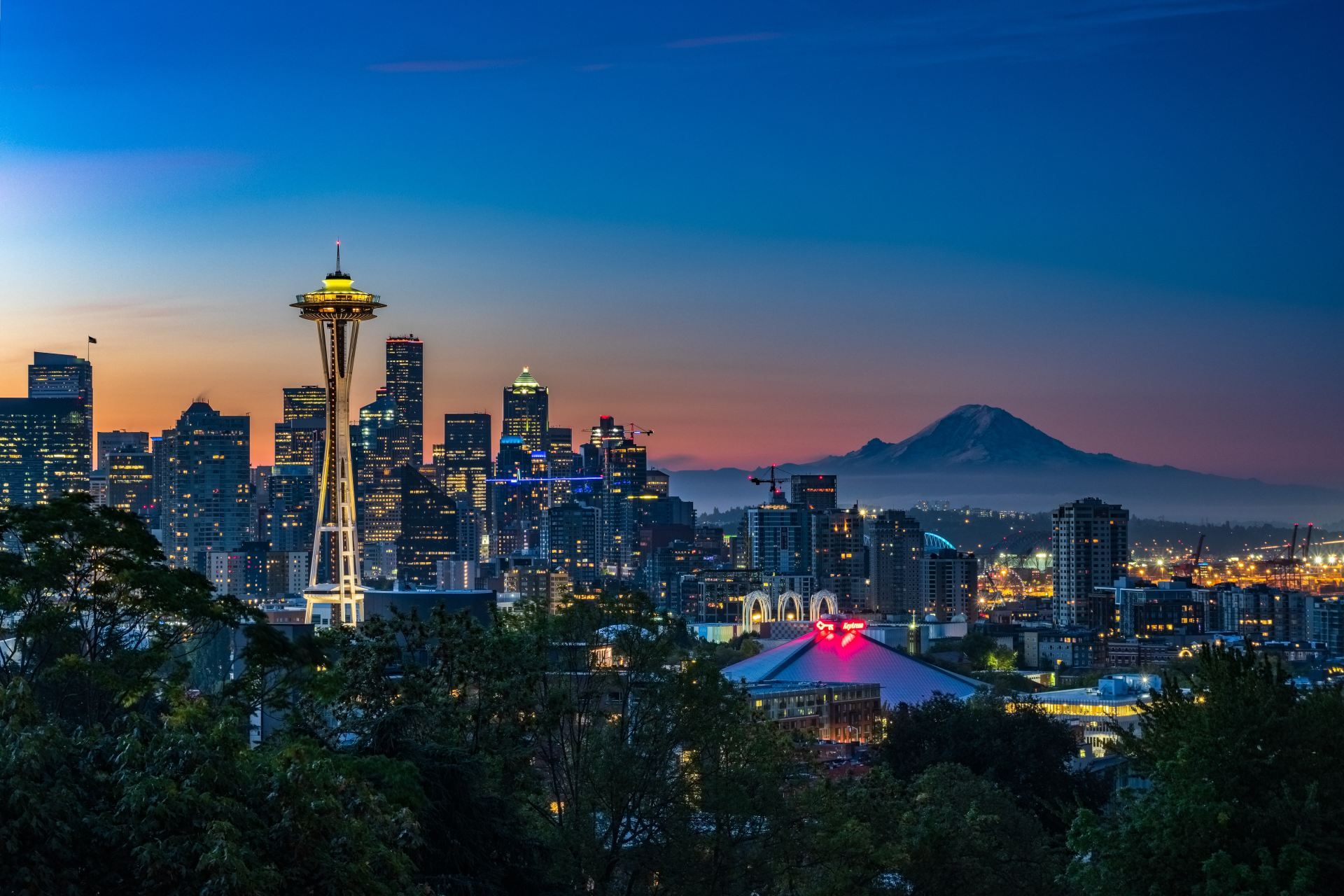 Top 5 Things to do Around Seattle