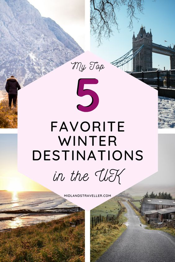 My 5 favourite winter holiday destinations in the UK