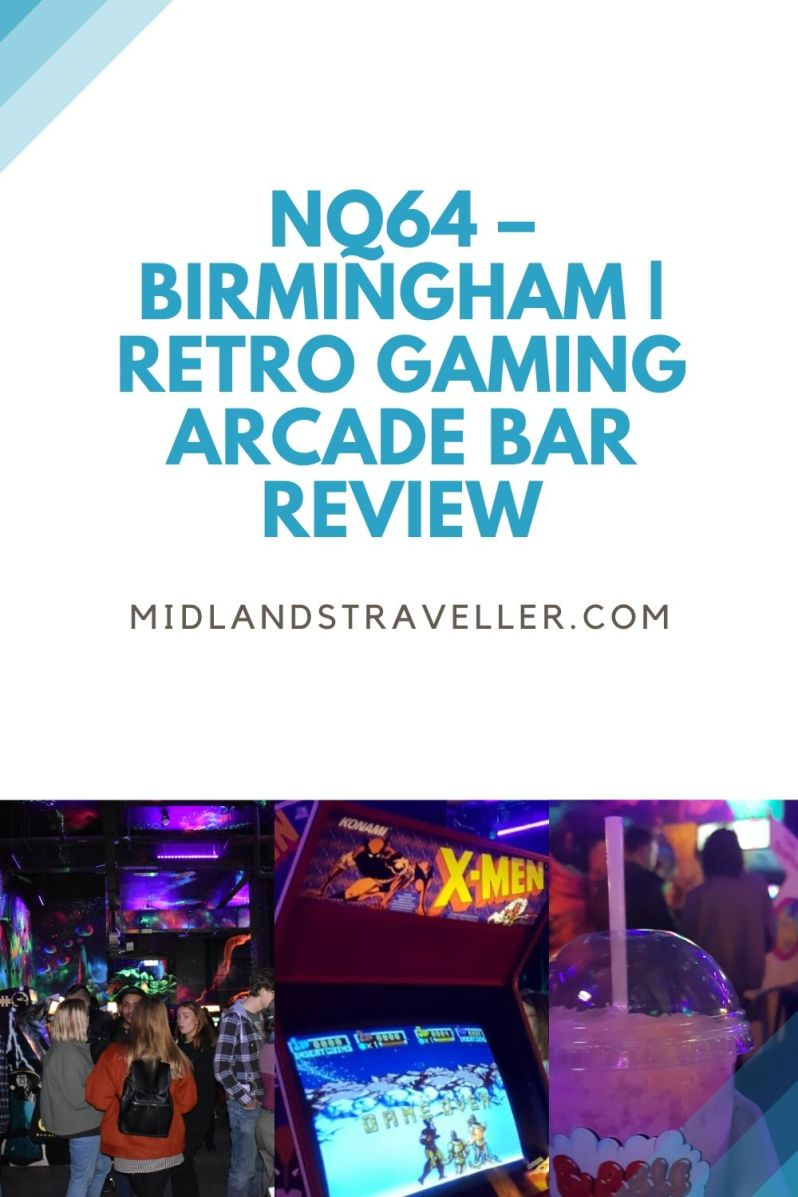 NQ64 – Birmingham _ Retro Gaming Arcade Bar Review