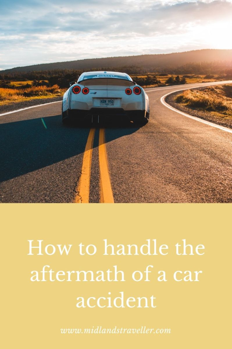 How to handle the aftermath of a car accident