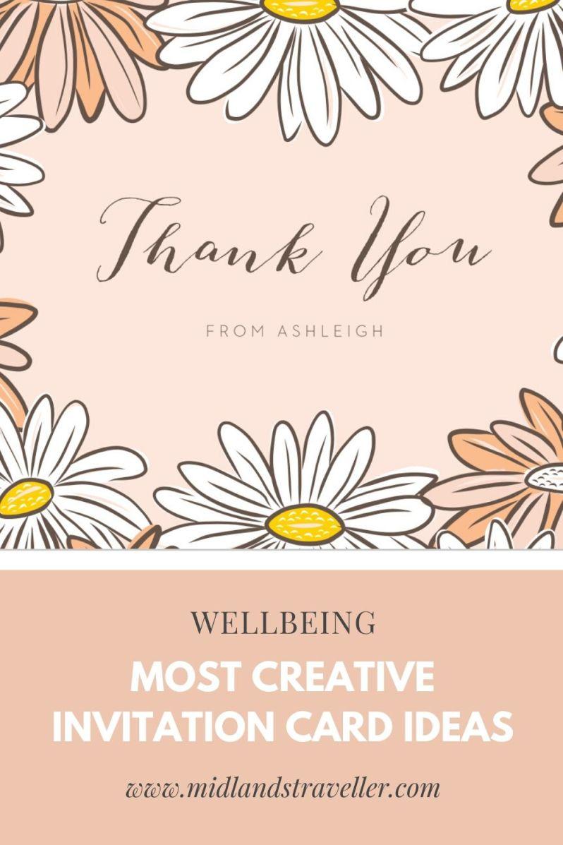 Most Creative Invitation Card Ideas