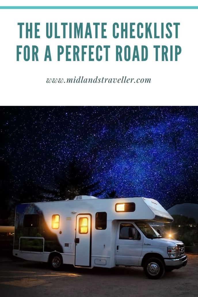 The Ultimate Checklist for a Perfect Road Trip