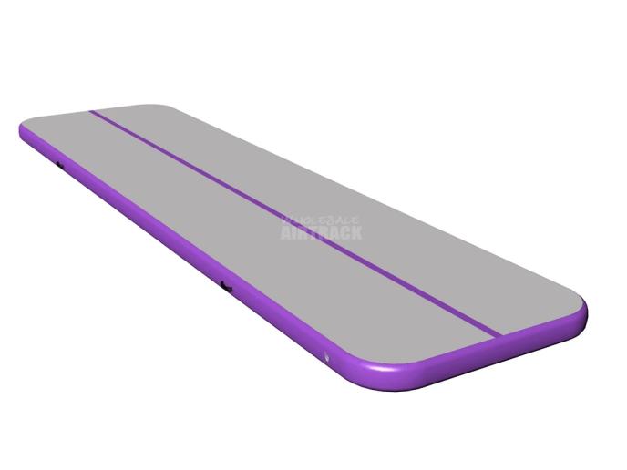 purple side big gymnastics mats