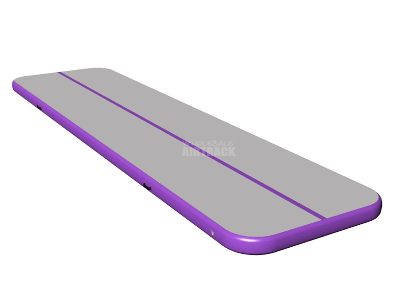 purple side big gymnastics mats