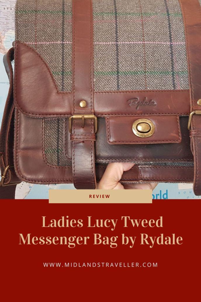 Ladies Lucy Tweed Messenger Bag by Rydale