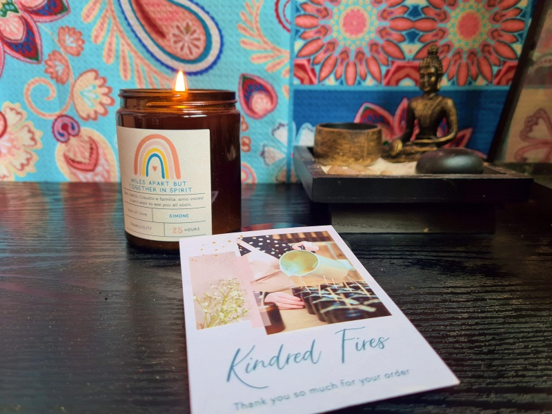Kindred Fires Personalised Candles Candle | Review